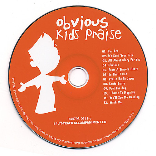 Obvious Kid's Praise Split-Track