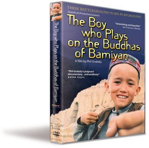 Boy Who Plays on Buddhas of Bamiyan