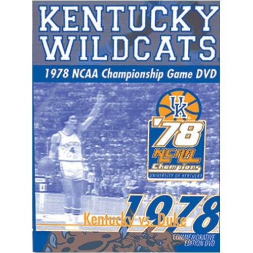 1978 NCAA Championship Game Kentucky Wildcats