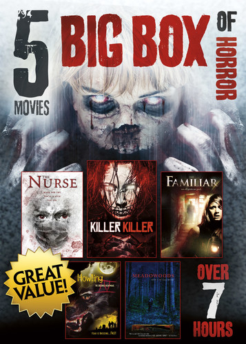 5-Movies Big Box of Horror