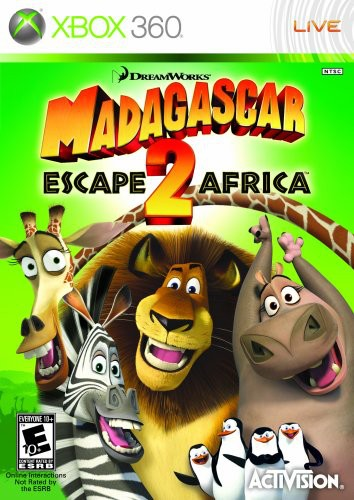 Madagascar 2: Escape 2 Africa for Xbox 360