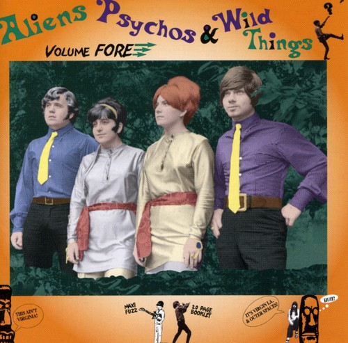 Aliens Psychos & Wild Things Fore /  Various