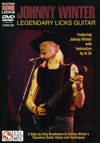 Johnny Winter Legendary Licks Guitar