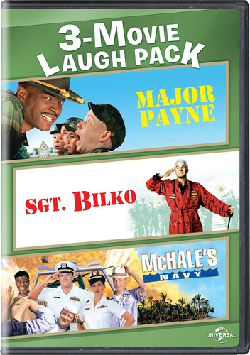 3-movie Laugh Pack: Major Payne/ Sgt. Bilko/ McHale's Navy (1997)