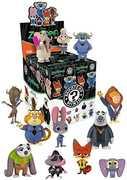 Funko Mystery Minis: Mini Disney Zootopia Blind Box (One Figure Per Purchase)