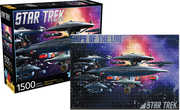 Star Trek- Ships of the Line 1500 PC Jigsaw Puzzle