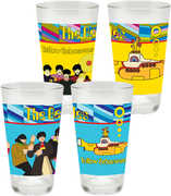 Beatles Yellow Submarine 2 pc. 16 oz. Laser Decal Glass Set