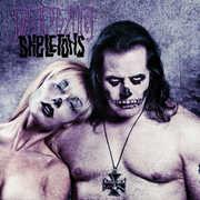 Skeletons Purple/ Black Splatter , Danzig
