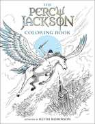 Percy Jackson and the Olympians The Percy Jackson Coloring Book (Percy