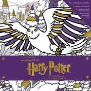 Harry Potter Winter At Hogwarts A Magical Coloring Set (Harry Potter)
