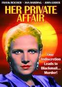 Her Private Affair , Ann Harding