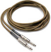 Hosa Tweed Guitar Cable Straight to Same 18 Ft