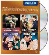 TCM Greatest Classic Legends Film Collection: Jean Harlow , Clark Gable