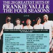20 Greatest Hits Live , The Four Seasons