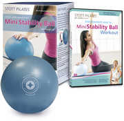 STOTT PILATES Mini Stability Ball (7.5 inch /  19 cm) and DVD Kit