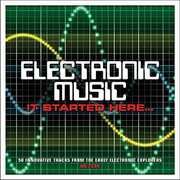 Electronic Music It Started Here /  Various [Import] , Various Artists