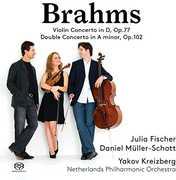Johannes Brahms: Violin Concerto in D, Op. 77 & Double Concerto