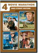 4 Movie Marathon: James Stewart Western Collection , John McIntire