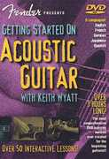 Fender Pres: Getting Started Acoustic Guitar , Keith Wyatt