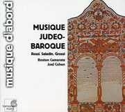 Boston Camerata & Joel Cohen : Jewish Baroque Music , Joel Cohen