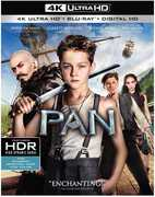 Pan  [4K Ultra HD + Blu-ray + Digital HD] , Garrett Hedlund