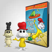 Green Eggs And Ham Dvd And Funko Dolls