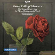 Telemann: Grand Concertos For Mixed Instruments 3