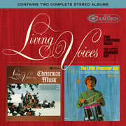 Sing Christmas Music /  the Little Drummer Boy , Living Voices