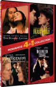 4 In 1 Romance Collection: The Scarlet Letter /  Feast of July /  Jefferson in Paris /  Washington Square