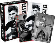 Elvis - Black and White Playing Cards Deck