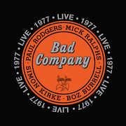 Live 1977 , Bad Company