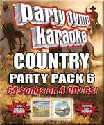 Party Tyme Karaoke: Country Party Pack 6 , Various Artists
