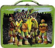 TMNT Lg Carry All Tin (Green)