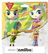 Amiibo: The Legend of Zelda  Series - The Wind Waker 2 Pack for Nintendo Wii U