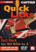 Quick Licks: Eddie Van Halen Fast Rock - Key: a , Jamie Humphries