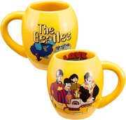 Beatles Yellow Submarine 18 oz. Oval Ceramic Mug