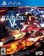 Raiden V: Director's Cut - Limited Edition w/ Original Soundtrack CDfor PlayStation 4