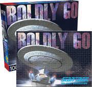 Boldly Go Star Trek Next Generation 1000 pc Jigsaw Puzzle