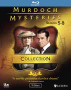 Murdoch Mysteries Collection 5-8 , Yannick Bisson