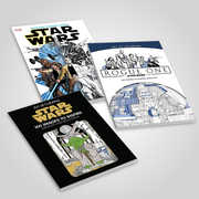 Star Wars 3 Coloring Books Pack
