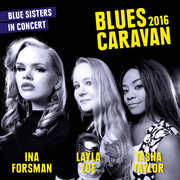 Blues Caravan 2016 , Ina Forsman