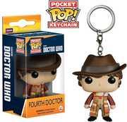 FUNKO POCKET POP! KEYCHAIN: Doctor Who - Fourth Doctor