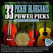 33 Pickin' Bluegrass Power Picks - Instrumentals , Various Artists