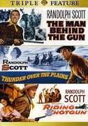 The Man Behind the Gun /  Thunder Over the Plains /  Riding Shotgun , Randolph Scott