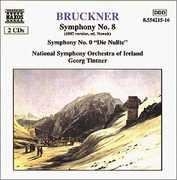 Symphony 8 (1887 Version) /  Symphony 0 Die Nullte , Georg Tintner