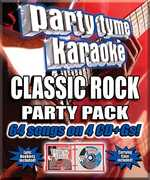 Party Tyme Karaoke: Classic Rock Party Pack , Various Artists