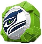 Mizco NFL Seatle Seahawks BT Speaker (BT Shox Box