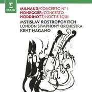 Cello Concerto No 1 /  Honegger: Cello Concerto Hodinott , Mstislav Rostropovich