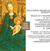 Mozart: Coronation Mass Vesperae Solennes de Confe , Nikolaus Harnoncourt