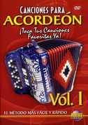 Canciones Para Acordeon 1 , Rogelio Maya